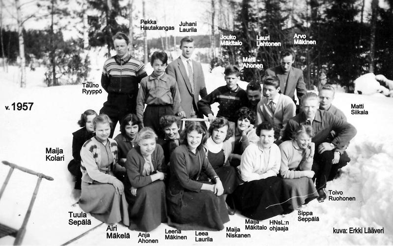 Nuorisoseuralaisia 1957